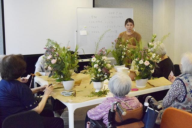 施設系サービス(特別養護老人ホーム・介護付有料老人ホームグループホーム・サービス付き高齢者向け住宅・ショートステイ)の様子2